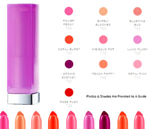 Maybelline Lipstick Honey Nectar Colour: Pink Lilac Flush 725 Rose Rush 735