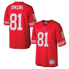 San Francisco 49ers Terrell Owens Mitchell   Ness Throwback Jersey L 9f0103be5
