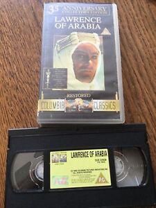 Lawrence Of Arabla VHS Cassette Tape