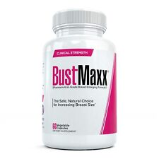BUSTMAXX Best Breast Enlargement Enhancement Pills for Real Bust Cup Size Growth