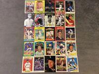 HALL OF FAME Baseball Card Lot 1972-2018 JOE MORGAN TY COBB NOLAN RYAN