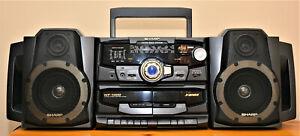 Sharp WF-1000W boombox