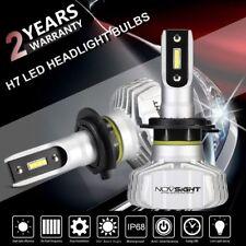 2x Novsight Fanless H7 LED Headlight Kit 6500K White Bulbs 10000LM Super Bright