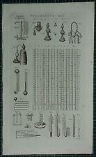 1786 PRINT ~ PNEUMATICS THERMOMETER HYGROMETER PYRMONT WATER