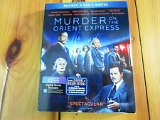Murder on the Orient Express (Blu-ray/DVD, 2018) with Slipcover