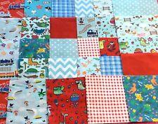 Paquet 36 x Patchwork Carrés 100/% tissu de coton charme Packs Quilting Restes