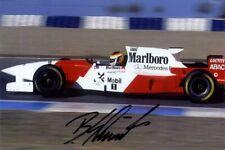 Bernd Schneider McLaren F1 Testing 1995 Signed Photograph