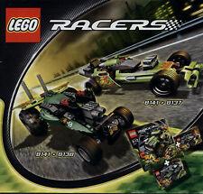 Lego Racers # 8141 / 8137 Off Road Power (Combi) - Bauanleitung (keine Steine!)