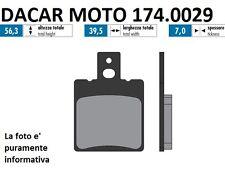 174.0029 PASTILLA DE FRENO ORIGINAL POLINI CAGIVA MITO 125 EV