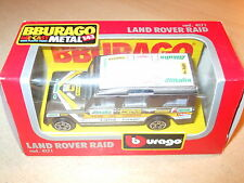 Burago - Land Rover Raid - 4171 - 1.47 Scale - Mint/Boxed - Fast Postage - Rare