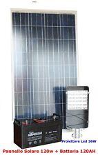 Kit Lampione Fotovoltaico per Pubblica Illuminazione Stradale Solare a LED