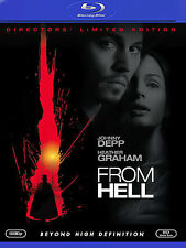 From Hell Blu-ray DVD - BRAND NEW !! SEALED RARE