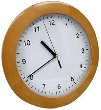Horloge murale hêtre Bois Véritable MASSIF TFA 98.1064 305 mm DU SALON