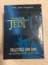STAR WARS Young Jedi The Jedi Council 60-card Starter Deck For x 2 decks