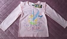 Disney fairies Tinkerbell top age 4 -5 years BNWT