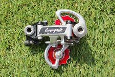 Campagnolo Super Record Titanium Rear Derailleur Pat 82 Vintage Bullseye Pulleys