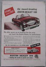 1955 Austin Healey 100 Original advert No.1