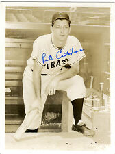 Autographed Signed Pete Castiglione Pirates Photo & Note w/coa jhaut