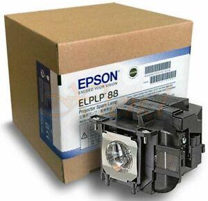 EPSON GENUINE ORIGINAL PROJECTOR LAMP GLOBE BULB HOUSING V13H010L88 ELPLP88 NEW