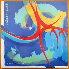 """Robert Plant """"Shaken 'n' Stirred"""" LP Vinyl Record - Saranza 90265-1 (EX)"""