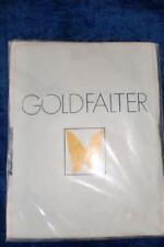 Goldfalter Strumpfhose Farbe Gelb Netz  Gr. 40-42 - Vintage !!