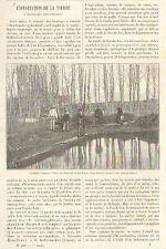 79 PAS-DE-JEU ETANG DU BOURCANI ARTICLE DE PRESSE DE JULES RICHARD 1895