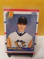 Jaromir Jagr 1990-91 Score #428 ROOKIE CARD Pittsburgh Penguins
