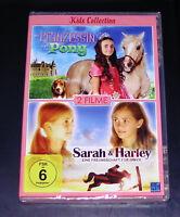 La Prinzessin Und Das Pony / Sarah y Harley Kids Colección DVD Nuevo Emb. Orig.