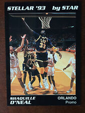 1993 Star Stellar Shaquille O'Neal Rookie LSU Promo Card RC ONLY 100 MADE RARE