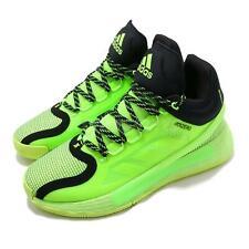 Adidas D Rose 11 сигнал зеленый Деррика Роуза Си баскетбольная обувь кеды FU7405