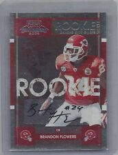 BRANDON FLOWERS 2008 PLAYOFF CONTENDERS ROOKIE TICKET TRUE RC AUTO SP ONLY /192
