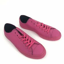 Converse Shoes Men's Size 10 Pink Monochrome Pebbled Rubber Sneakers All Star