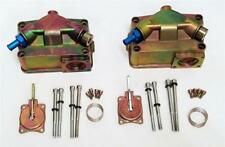 Gearhead Zinc Carburetor Fuel Bowl Center Hung Holley Proform Double Pumper Pair
