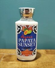 AGAVE PAPAYA SUNSET by Bath and Body Works **Body Lotion** Limited