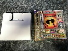 The Incredibles 105 in 1 GBA Gameboy Advance Box Only.
