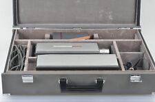EXC++ SONY CVC-2100A CAMERA, CVF4 FINDER, 20-80mm & 25mm LENSES, CASE WORKS!!!