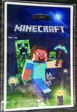 NEW Minecraft Steve Birthday Party Treat Bags Party Favor Fillers SET OF 10
