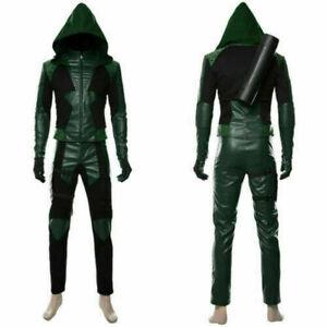 Green Arrow Season 8 Oliver Queen Cosplay Coat/Jacket Full set Costume