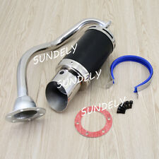 Performance Exhaust System Muffler Short for GY6 150cc 4 Stroke Chinese Scooters