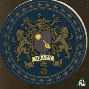 English Heraldic Coaster: Brady