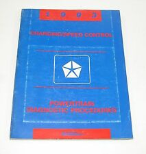 1993 Chrysler Dodge Jeep Charging & Speed Control Service Manual