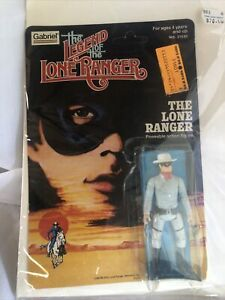 1980 Gabriel/The legend of the lone ranger/The Lone Ranger figure Brand New