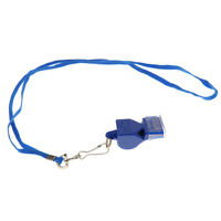 Sports  REFEREE WHISTLE / Outdoor Survival Hiking Rescue Safety - Blue