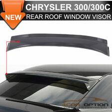 Fits 05-10 Chrysler 300 300C Rear Roof Window Visors Spoiler Visor Sun Deflector
