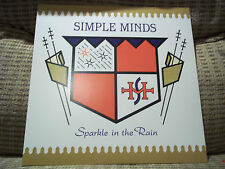 SIMPLE MINDS - SPARKLE IN THE RAIN LP 2015 REMASTER NEVER PLAYED PERFECT BACK ON