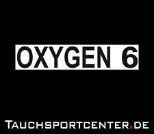 Aufkleber Oxygen MOD 6 zur Stage Flaschenkennzeichnung