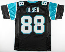 Greg Olsen Signed Carolina Panthers Jersey (JSA Hologram) 3x Pro Bowl Tight End
