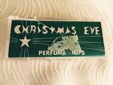 Kingham's Christmas Eve Perfume Nips Lot of 25 Vintage RARE DISCONTINUED
