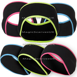Women Warm Wide Fleece Headband Running Fitness Cycling Hairband Stretch Elastic