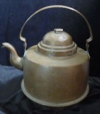 Vintage Early Handmade Copper Tea Kettle Gooseneck